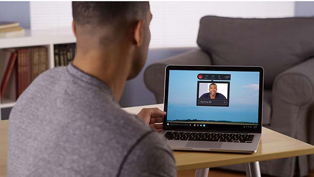 Kaltura's new Personal Capture provides a simple interface for creating video presentations.