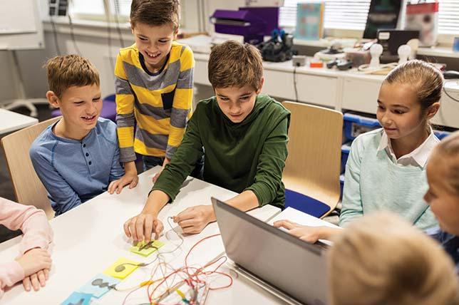 Integrating Makerspaces Throughout the Curriculum