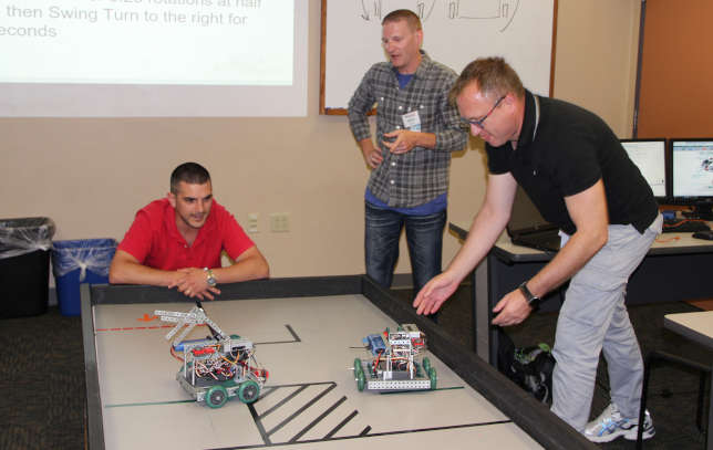 Getting Trained to Teach Robotics