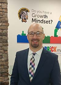 Justin Aglio, director of academic achievement (K-4) and district innovation at Montour School District.