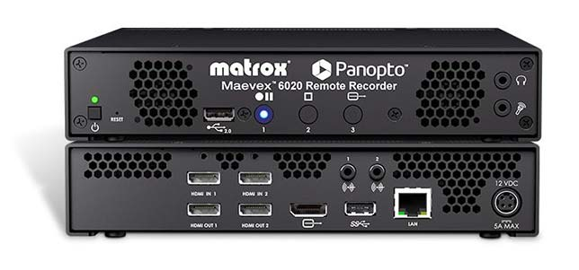 New Remote Recorder Integrates with Panopto Video Software