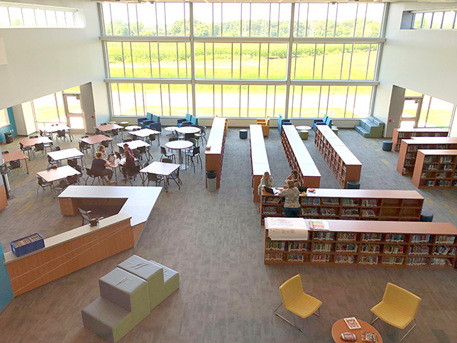 Muskego-Norway School District put educators in charge of making many of the decisions about furnishings, supplies and equipment in its learning spaces.