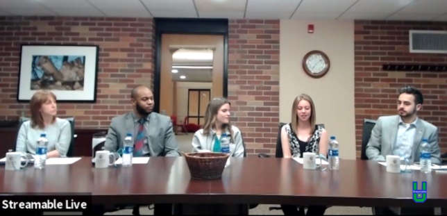 A group of Alma College reps discuss their college in this StreamableU broadcast.