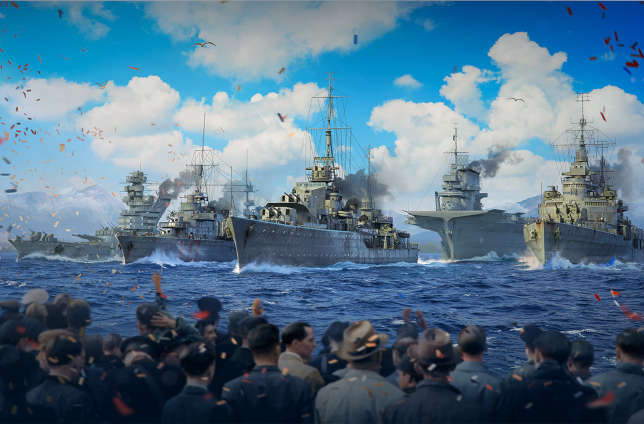Virtual Naval Parade to Mark 75th Anniversary of End of WWII