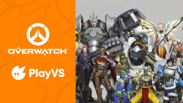 PlayVS Adds Recreational Esports and Overwatch to Play Roster