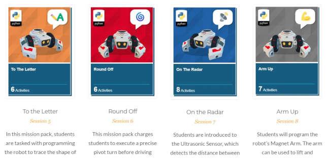 Curso CoderZ Intros Python para estudiantes de secundaria y preparatoria