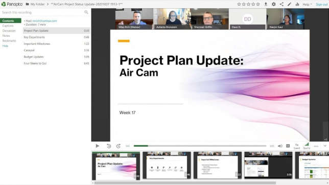 Panopto Adds Webex Meeting Integration