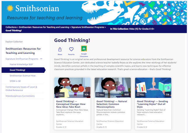 PBS Adds Curated Smithsonian Content to Free LearningMedia
