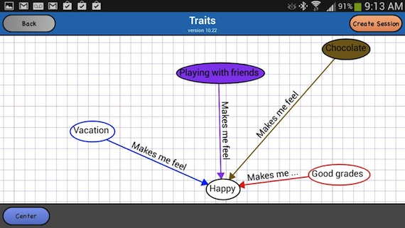 WeMap is a collaborative concept mapping tool for iOS and Android. Click for larger image.