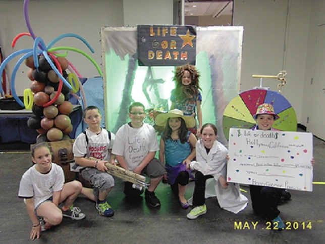 Two teams from Albion Elementary School went to the Global Destination Imagination Challenge last year.