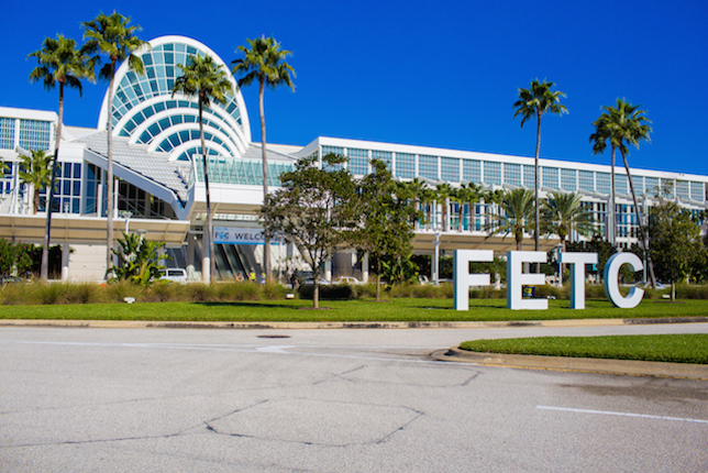 outside view of FETC conference
