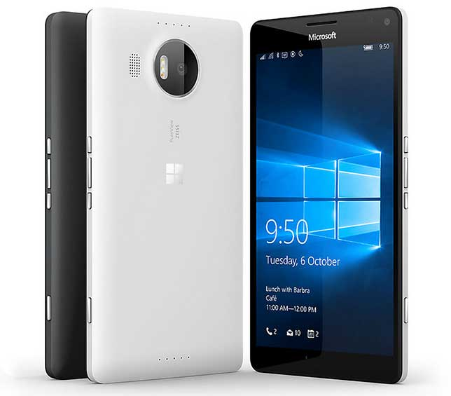 The Lumia 950 XL