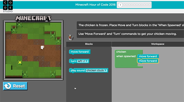 Microsoft, Code.org Use Minecraft to Teach Coding