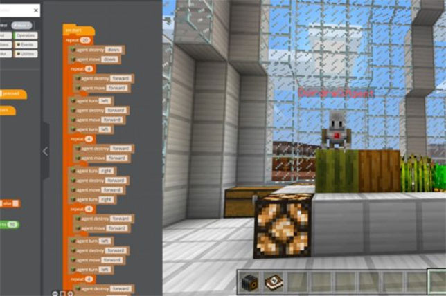 Minecraft: Education Edition 1.0.1 Released with Code Builder Support