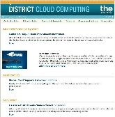 K-12 Technology Newsletter: District Cloud Computing