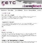THE Journal Newsletter: FETC Learning Network