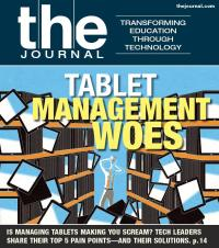 "THE Journal Magazine Cover, June 2013: ""Tablet Management Woes"""