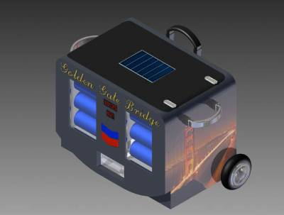 Winning water cooler design for the Chevron Engineering Design Challenge