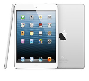 The new iPad mini offers dual-band 802.11n wireless networking.