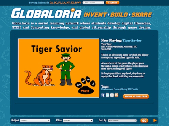 Tiger Savior, a safari-themed game about the environmental threats facing tigers.