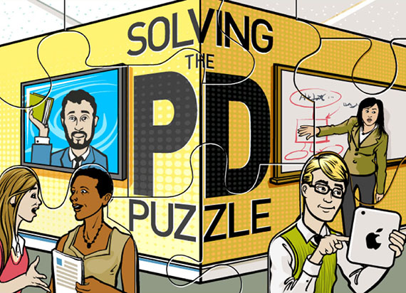 online professional development puzzle