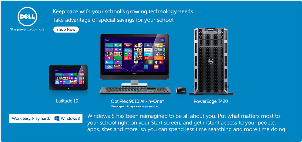 Keep page with your schools growing technology needs.