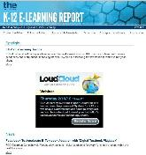 K-12 E-Learning Report: screenshot