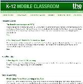 THE K-12 Newsletter: K-12 Mobile Classroom