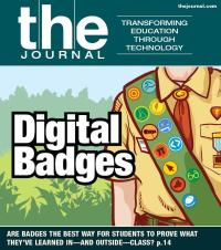 "THE Journal Magazine Cover, May 2013: ""Digital Badges"""