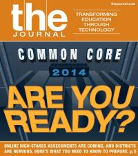 "THE Journal Magazine Cover, July 2013: ""Common Core 2014 - Are You Ready?"""