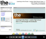 Google East Leyden High School 1 to 1 Chromebooks screenshot