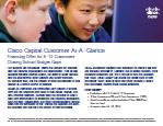 Cisco Capital Financing Offer for K12