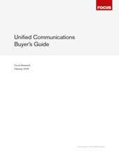 Buyers Guide: Unified Communications