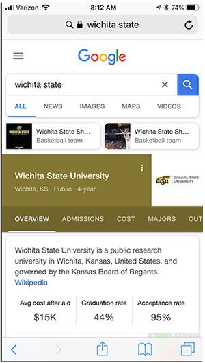 google college search
