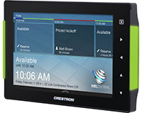 Crestron TSS-752 Room Scheduling Touchscreen