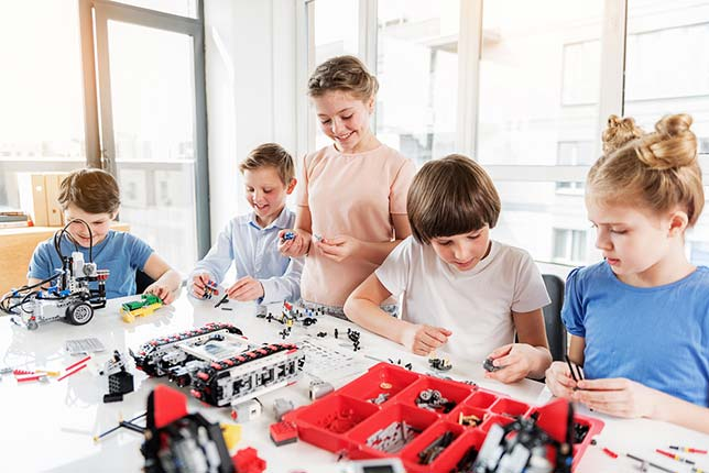 Robotics programs across the country are appealing to non-STEM-oriented students too, even as they learn science, tech, engineering and math (along with a whole bunch of soft skills) on the side.
