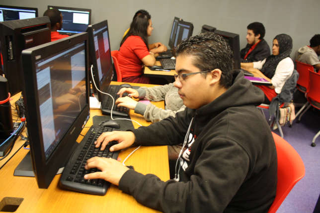 The Panasonic Foundation and the Hispanic Heritage Foundation are collaborating to launch four academies to teach code as a second language to middle school and high school students.