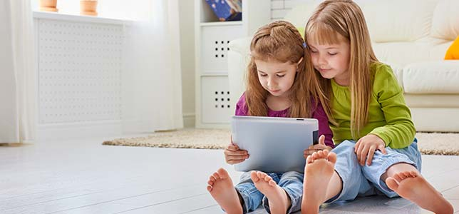 Nearly half — 42 percent — of children eight years old or younger have their own tablet. That number is up from just 1 percent in 2011.