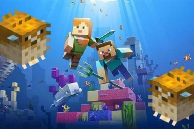 Minecraft EDU Takes Coding, STEAM Lessons Underwater