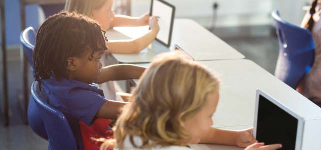 A new report finds technology is becoming more prevalent in everyday learning activities, but the majority of classrooms worldwide are creating blended learning environments.