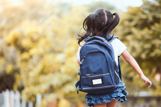 Student Knapsacks Place Excess Weight on Spines