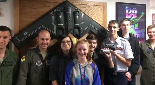 High School Team Masters 3D Printing for Part in $2.2B Aircraft