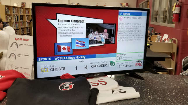 High Schoolers Drive Content Programming in Digital Signage Pilot