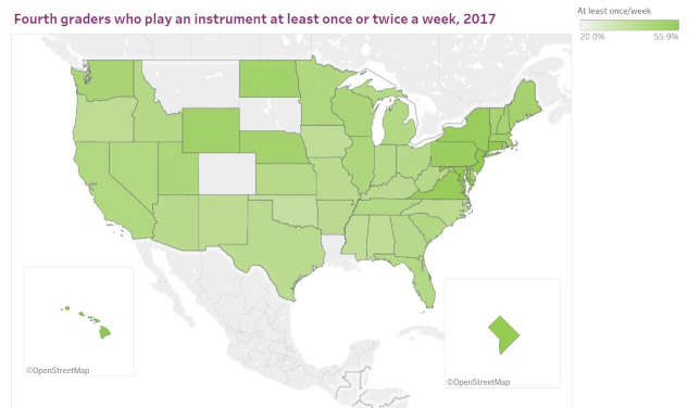 uneven access to music education in the united states