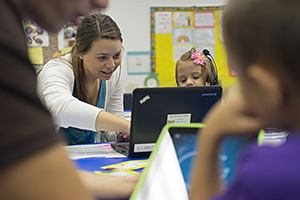 the technology rich teacher education program at blue valley in kansas