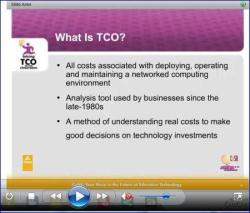 "Webinar screen capture ""What is TCO?"""
