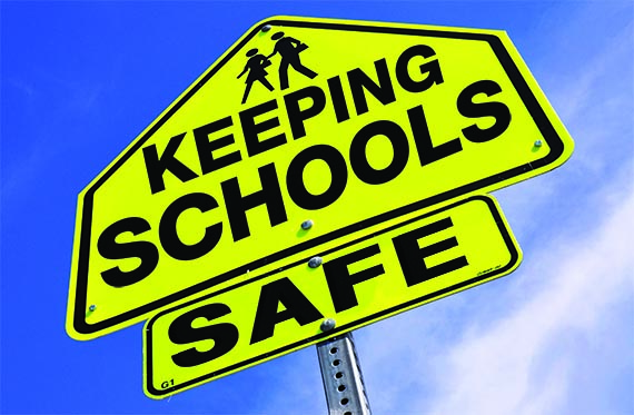 keeping school safe Keeping schools safe for learning in the aftermath of mass shootings like those  at columbine high school and sandy hook elementary school—in addition to.