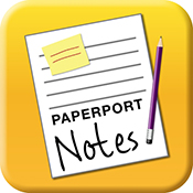 paperport notes app icon