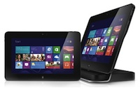 The Dell Venue Pro 11 offers full docking capabilities.