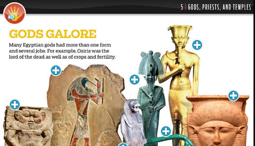 kids discover ancient egypt app